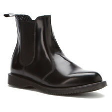 Women's Dr Martens Flora PullOn Chelsea Boot Boot Black Smooth 14649001