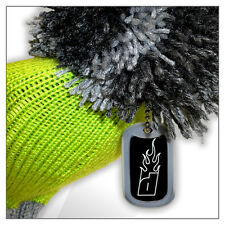 Flaming Golf POMPOM Driver Extra Long Headcover Green
