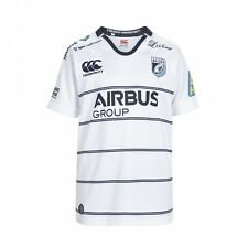 Cardiff Blues Junior Alternate Pro Rugby Shirt Bright White and Navy