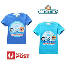 New Octonauts BNWOT Boys Kids T-Shirt Tee Top Captain Barnacles Size 2 3 4 5 6
