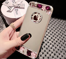 "Luxury Crystal Mirror TPU Case Cover Skin For Apple iPhone 5/5S 6 4.7"" Plus 5.5"