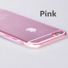 Thin Slim Crystal Clear Soft Silicone TPU Back Skin Case Cover for iPhone 6S