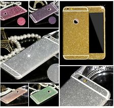 Full Body Matte Bling Flim Screen Skin Protector Sticker for iPhone 6 Plus/5 4 S