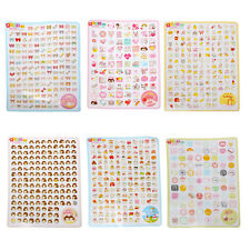 2 Sheet Cute Sticker Planner Diary Notebook Decoration Stationery 6 Styles