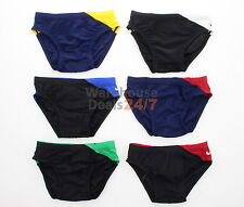 New Nike Boy's Men's Youth Core Brief Competition Team Swimsuit Bottom T8SS6017