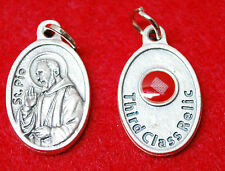 St. PADRE PIO RELIC MEDAL - WITH CLOTH TOUCHED TO HIS RELIC