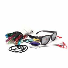 The Solo Pack- Escher Sunglasses   All Interchangeable Arms & Polarized Lenses