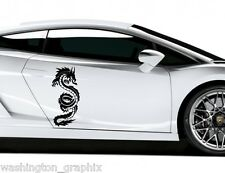 TRIBAL DRAGON 32- CAR, VAN, BOAT, WALL ART VINYL / DECAL Graphics Sticker