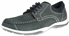 Red Tape Nutley Navy Lace Up Deck Shoes Mens Leather Boat