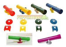 TELESCOPE & Hardware 6 COLOURS NEW playground cubby house swing accessories