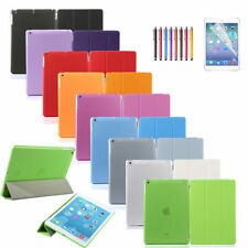 Ultra Slim Smart Cover PU Leather Case Stand For Apple iPad 2 3 4 5 Mini 1 2