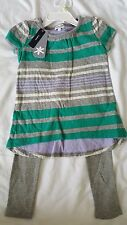 Little Girls Splendid outfit Tunic legging set size 4-5 6X NEW NWT