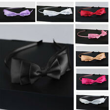 Newest Vogue Bowknot Ribbon Hair Accessory Headband Bow Head Band Clip To Lady