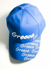 GREEK hat cap with themes of Greece ideal gift souvenir stamp GREECE