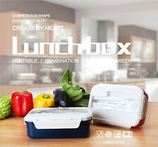 Bento Lunch Box Set With Chopstics+Spoon+Insulated Bag Food Container Bento Box