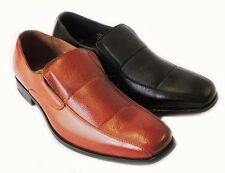 NEW *FERRO ALDO* FASHION MENS LEATHER LINED DRESS SHOES LOAFERS SLIP ON /2COLORS