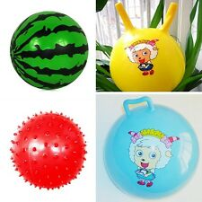 Baby Bouncy Ball Children Sense Training Rubber Ball Massage Toys Inflatable Toy