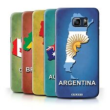 STUFF4 Back Case/Cover/Skin for Samsung Galaxy S6 Edge+/Plus/Flag Nations