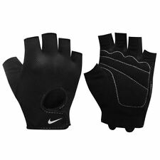 Nike Gloves Womens Ladies Fit Essential Training Weight Lifting Black Grey New
