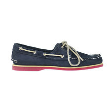 Timberland Classic 2I Men's Boat Shoes Navy 6305a
