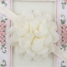 Hot  Baby Toddler Infant Lace Flower Headband Hair Bow Headwear Accessories