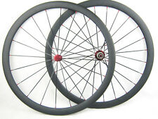 700c 38mm carbon Fiber road bike wheels cycle carbon wheelset tubular/clincher