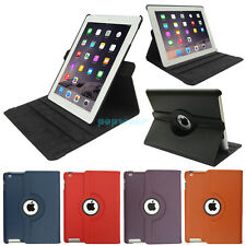 For iPad 2 3 4 360° Rotating Folio Magnetic PU Leather Smart Case Cover Stand