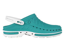 Wock Unisex Clog Shoes - Green/White