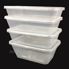 Wholesale Food Containers Plastic Takeaway Microwave Freezer Storage Boxes Lids