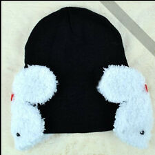 New Baby Toddler Kids Boys Girl Winter Ear Flap Warm Hat Beanie Cap Crohet Cool