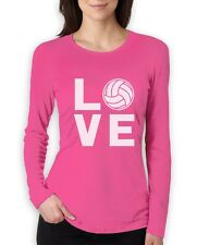 Love Volleyball - Perfect Gift for Volleyball Fans Women Long Sleeve T-Shirt