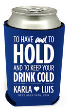 275 Personalized Custom Can Koozies Coolies Wedding Favors Quick Turnaround