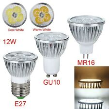 E27 GU10 MR16 High Power 9W 12W 15W LED Lamp Spotlight Warm /Cool White great