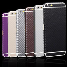 Full Body Film Screen Protector Carbon Fiber Sticker Skin For iPhone/Samsung JJC