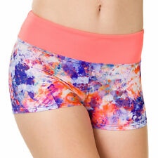 Onzie Hot Yoga Shorts! 220 Jelly/Shiny Coral, Great for swimming and hot yoga!