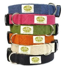 Earthdog  adjustable hemp dog collar