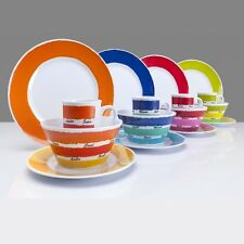 NEW Colour Work 1 up to 4 Pers Melamine Camping dishes Camping dishes Dinner Set