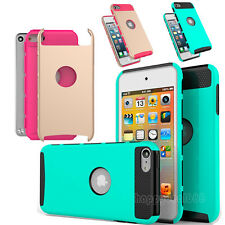 New Hybrid Shockproof Heavy Duty Matte Case Cover for Apple iPod Touch 5 6th Gen