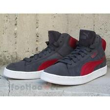 Shoes Puma 1948 mid 359138 05 sneakers man casual moda Suede Grey Red Basket