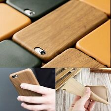Ultra-thin PU Leather Wood Grain Soft Case Cover ShellFor Apple iPhone 6 6s Plus