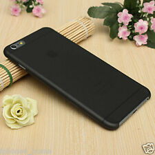 Transparent Black Matte Frosted Ultra Thin Shell Case Cover For iPhone 6/6s
