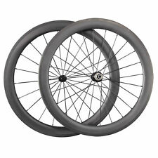 Ultra Light Carbon Wheels 60mm depth Carbon Clincher Road Bike Bicycle Wheelset