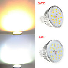 MR16 12V Bright 420LM 12W 24SMD LED Spot Bulb Lamp Warm COOL White light GU5.3