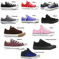 Kids Converse Chuck Taylor All Star Girls  Boys Trainers Shoes UK 10-2