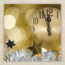 """8 x New Year Cards Pack - 2018 Celebrations  """"2 Minutes to Go!"""" Fast Freepost"""