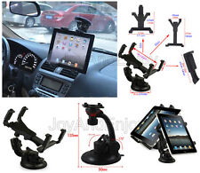"""Car Windscreen Suction Mount Stand &Seat Back Headrest Holder For 7""""-10.1""""Tablet"""