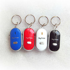 Hot sale led light key finder locator find lost keys chain whistle sound control