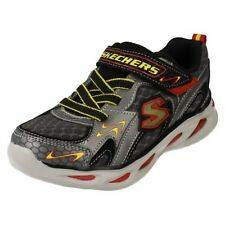Boys Skechers Light Up Trainers Rayz