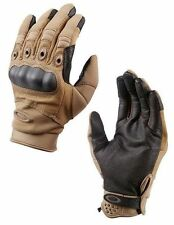 Oakley SI Assault Tactical / Factory Pilot Hard Knuckle Glove in Coyote Tan