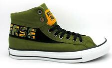 CONVERSE CT BAND MID Green Canvas Trainers 144203F